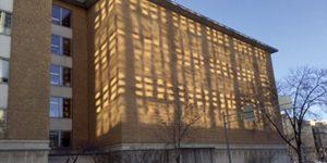 2015年大晦日、アメリカ、ウィスコンシン州マジソンで見られた光の模様