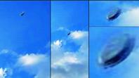 空飛ぶ円盤型の物体